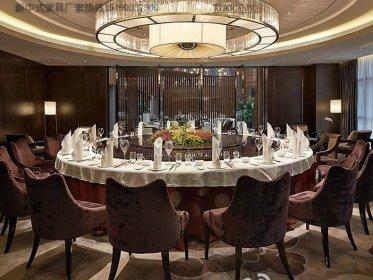 新中式餐桌椅组合实木餐桌餐椅定做餐厅酒店餐桌椅工厂6