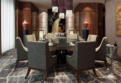 新中式餐桌椅组合实木餐桌餐椅定做餐厅酒店餐桌椅工厂7