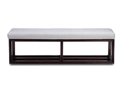 新中式床尾凳JYG-CQS-589