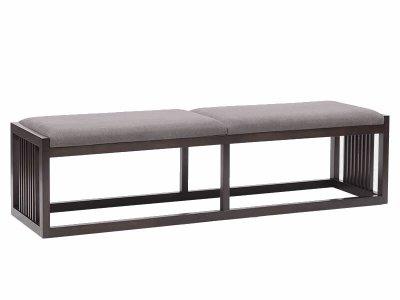 新中式床尾凳JYG-CQS-593