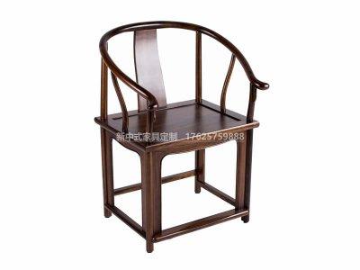 新中式书椅定制,现代实木中式书椅高端定制厂家,新中式实木书椅高端定制工厂
