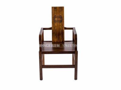 新中式书椅定制,现代中式实木书椅高端定制厂家,新中式书椅定做