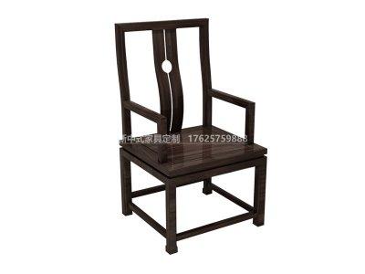 新中式书椅JYG-CQS-1123
