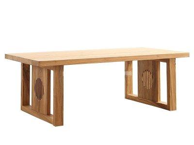 新中式书桌JYG-CQS-1137