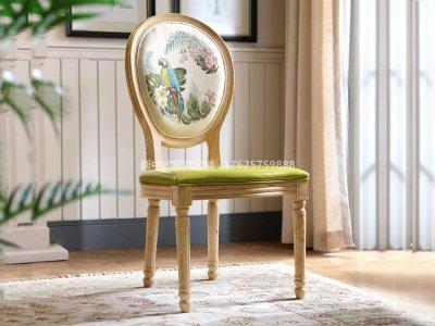 新中式餐椅JYG-CQS-1306