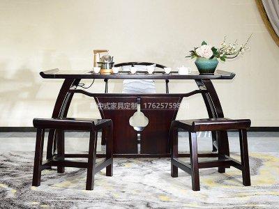 新中式茶桌椅JYG-CQS-1313