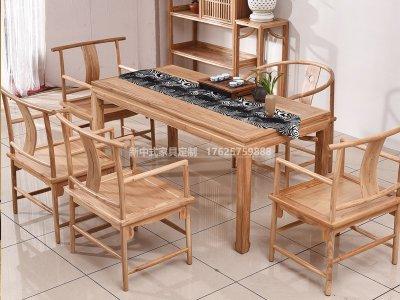 新中式茶桌椅JYG-CQS-1321