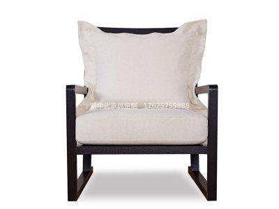 新中式休闲椅JYG-CQS-1350