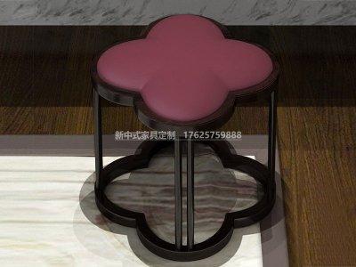 新中式方凳JYG-CQS-1352