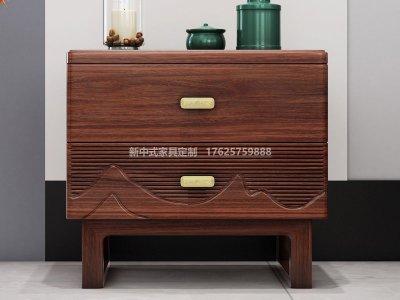 新中式床头柜JYG-CQS-1390