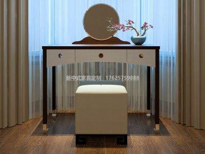 新中式梳妆台JYG-CQS-1398