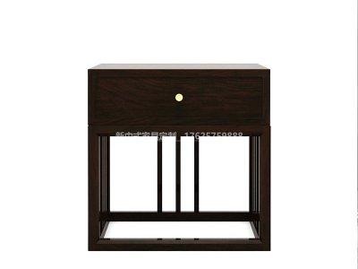 新中式床头柜JYG-CQS-1407