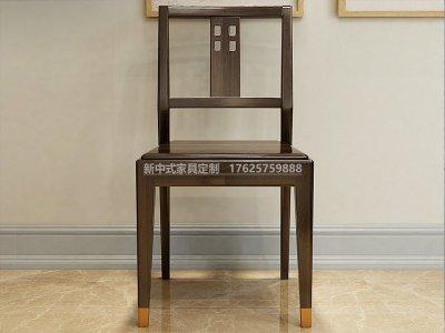 新中式餐椅JYG-CQS-1427