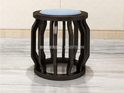 新中式茶凳JYG-CQS-1497