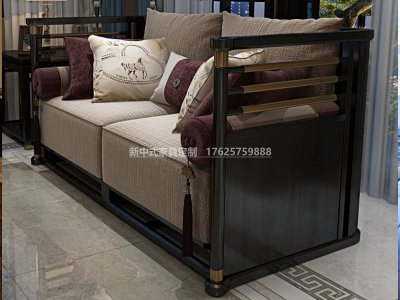 新中式沙发JYG-CQS-1504