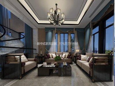 新中式沙发JYG-CQS-1505