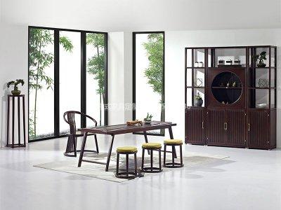 新中式茶室家具JYG-CQS-1522