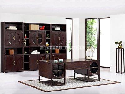新中式书房家具JYG-CQS-1538