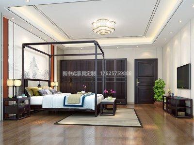 新中式卧室家具JYG-CQS-1542
