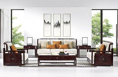 新中式沙发JYG-CQS-1547