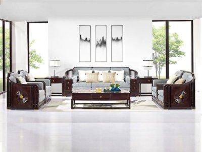 新中式沙发JYG-CQS-1552