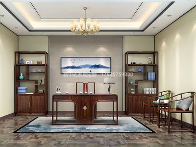 新中式书房家具JYG-CQS-1555