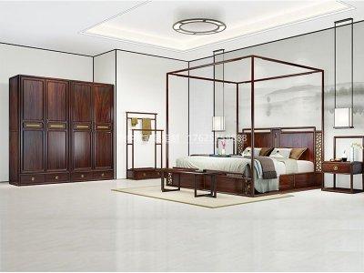 新中式卧室家具JYG-CQS-1563