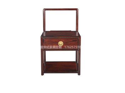 新中式床头柜JYG-CQS-1564