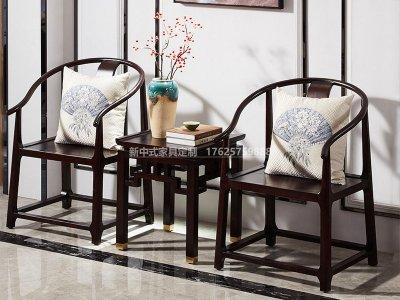 新中式休闲桌椅JYG-CQS-1614