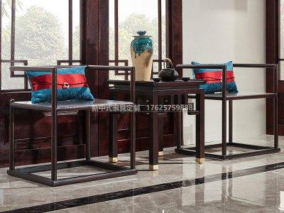 新中式休闲桌椅JYG-CQS-1641