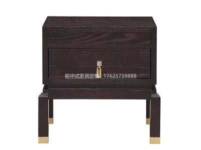 新中式床头柜JYG-CQS-1649