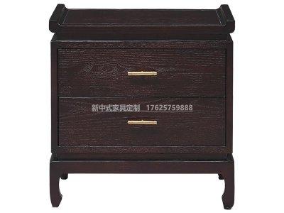 新中式床头柜JYG-CQS-1650