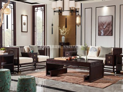 新中式沙发JYG-CQS-1656