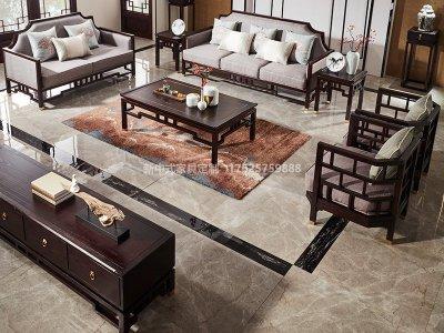 新中式沙发JYG-CQS-1658