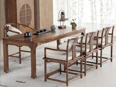 新中式茶室家具JYG-CQS-1693