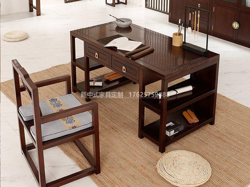 新中式是书房家具