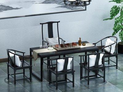 新中式茶室家具JYG-CQS-1743