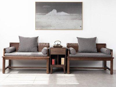 新中式休闲桌椅JYG-CQS-1757