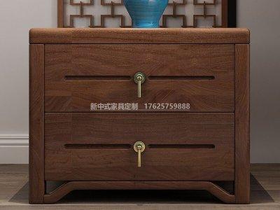 新中式床头柜JYG-CQS-1775