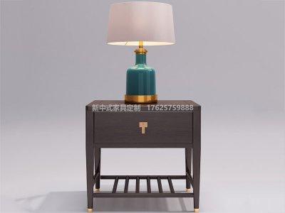 新中式床头柜JYG-CQS-1778