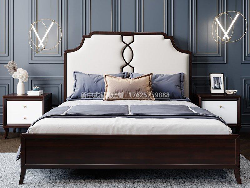 新中式实木床