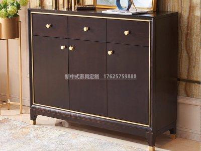 新中式玄关柜JYG-CQS-1804
