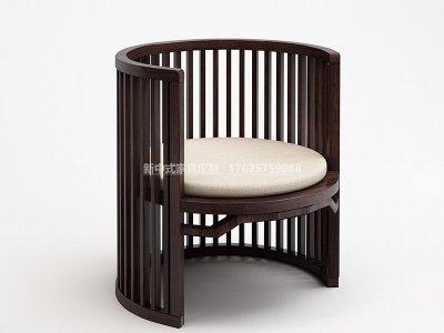 新中式休闲椅JYG-CQS-1815