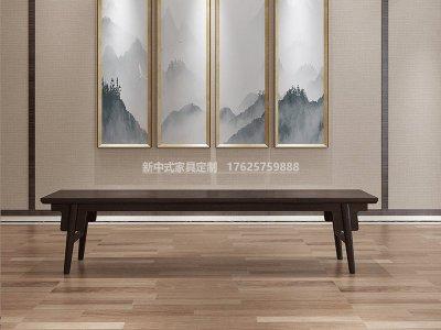 新中式长凳JYG-CQS-1822