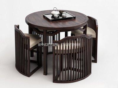 新中式休闲桌椅JYG-CQS-1824