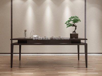 新中式茶桌JYG-CQS-1825