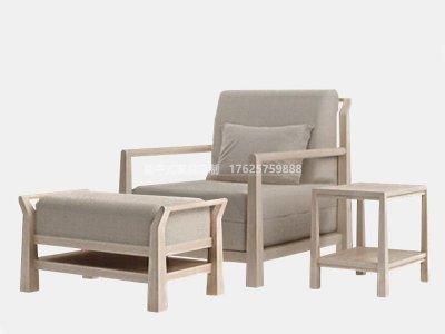 新中式休闲桌椅JYG-CQS-1827