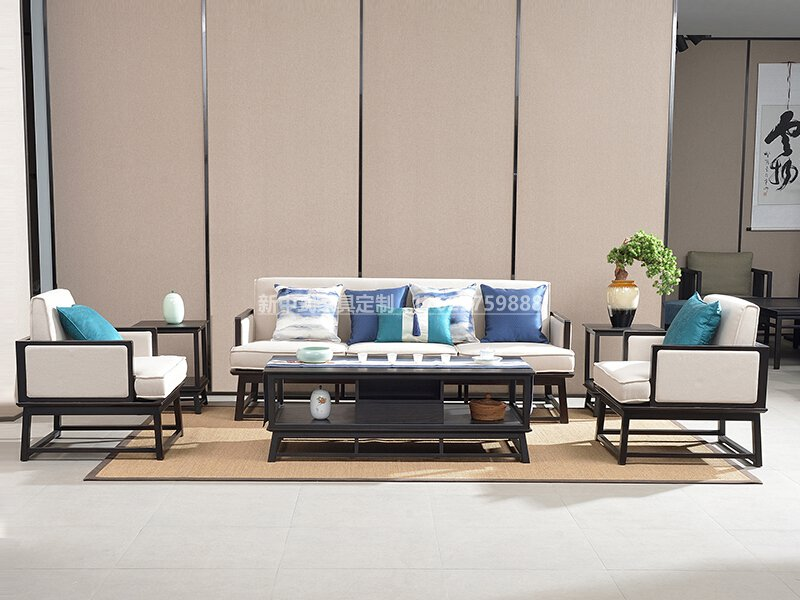 新中式沙发