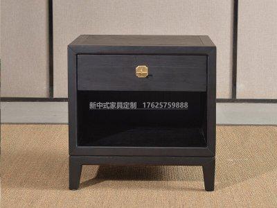 新中式床头柜JYG-CQS-1835