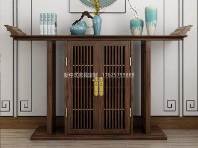 新中式玄关柜JYG-CQS-1856